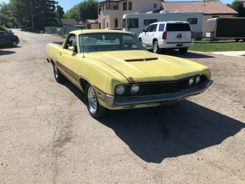 needs work 1970 Ford Ranchero GT vintage project for sale