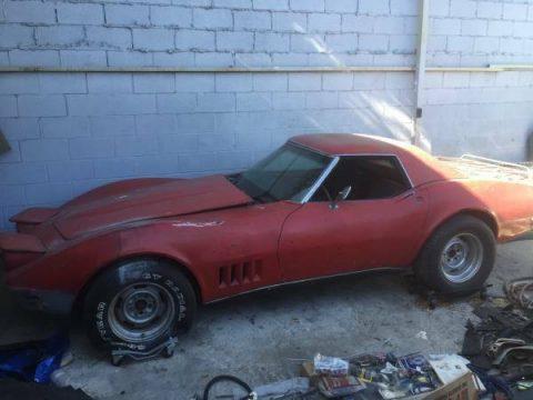 new parts 1968 Chevrolet Corvette project for sale