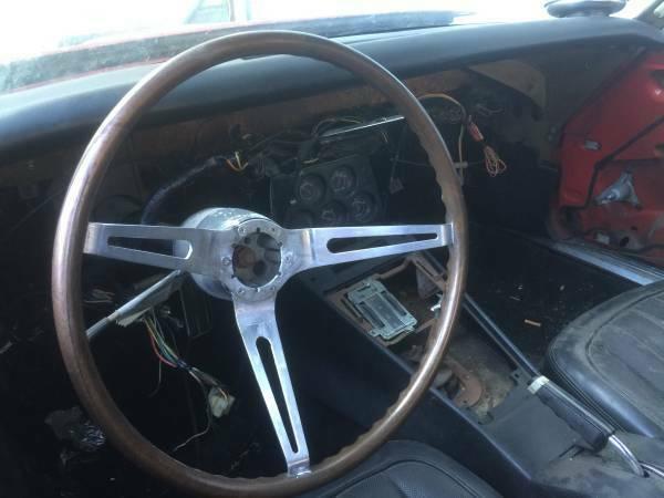 new parts 1968 Chevrolet Corvette project
