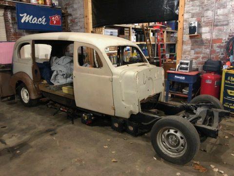 no drivetrain 1938 Pontiac Hearse project for sale