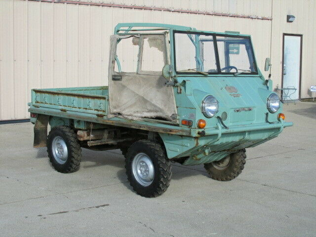 original 1973 Steyr Puch Haflinger 700AP military project