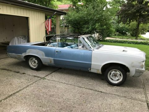 real GTO parts 1964 Pontiac Lemans Convertible 389 4 Speed Project for sale