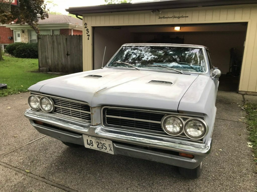 real GTO parts 1964 Pontiac Lemans Convertible 389 4 Speed Project