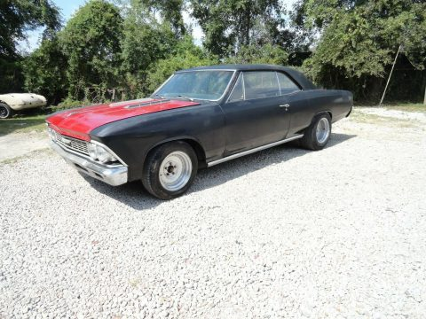 runs and drives 1966 Chevrolet Chevelle project for sale