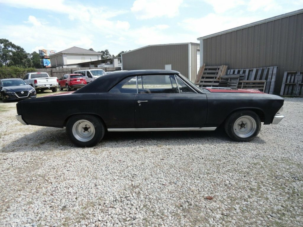 runs and drives 1966 Chevrolet Chevelle project