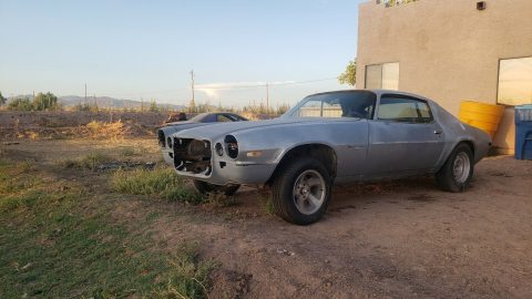 solid 1971 Chevrolet Camaro project for sale