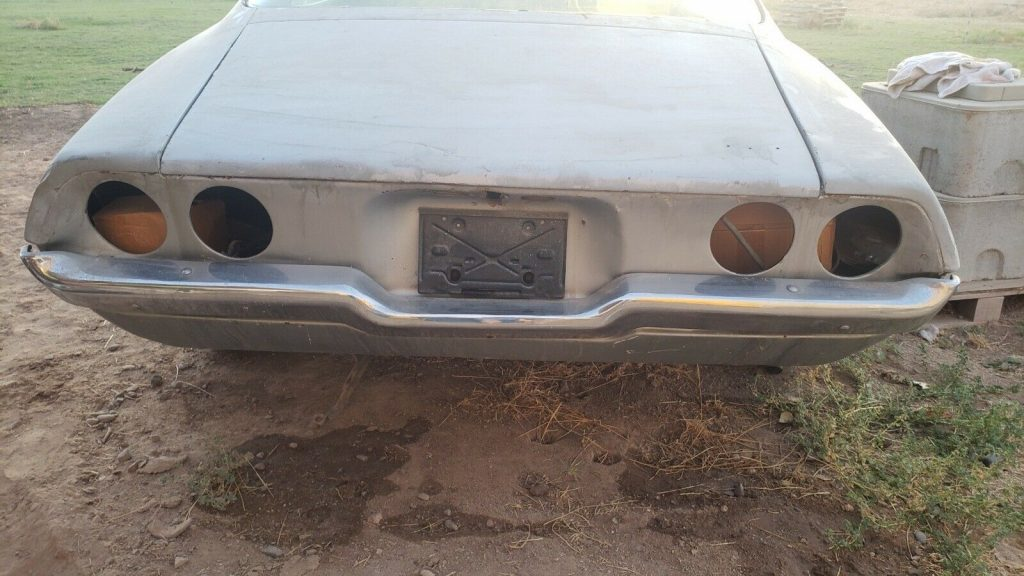 solid 1971 Chevrolet Camaro project