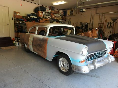 tons of new parts 1955 Chevrolet Bel Air project for sale