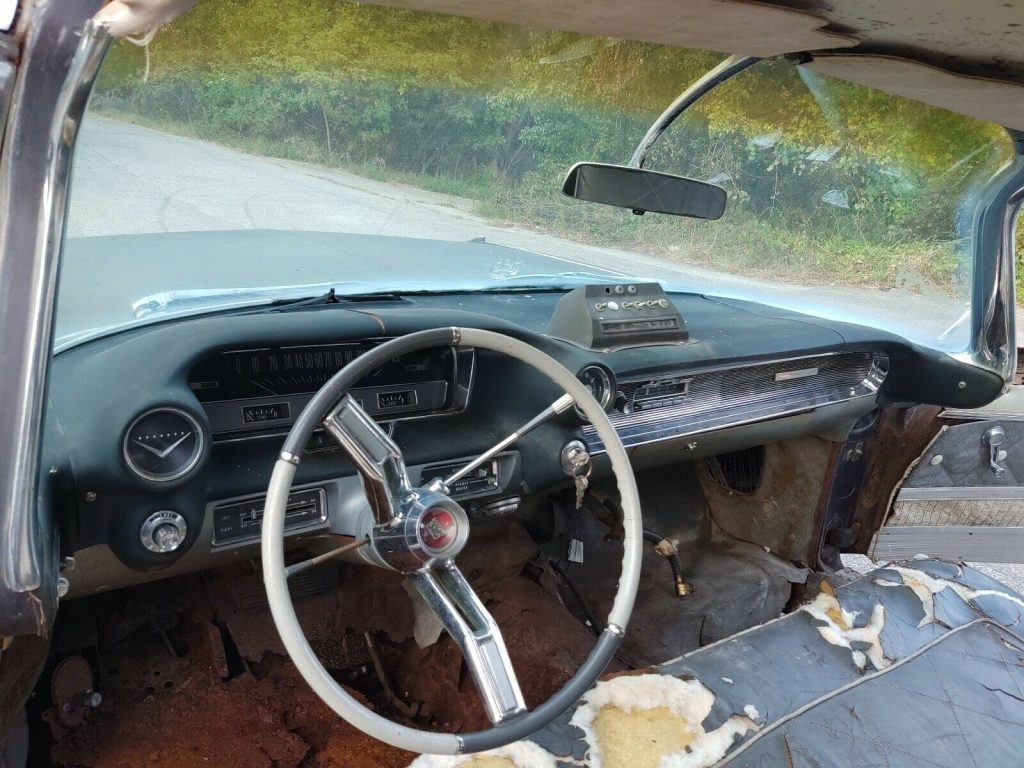 combination 1961 Cadillac Superior Royale Crown hearse project