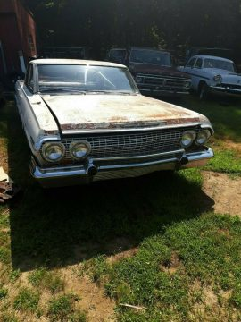 complete 1963 Chevrolet Impala project for sale