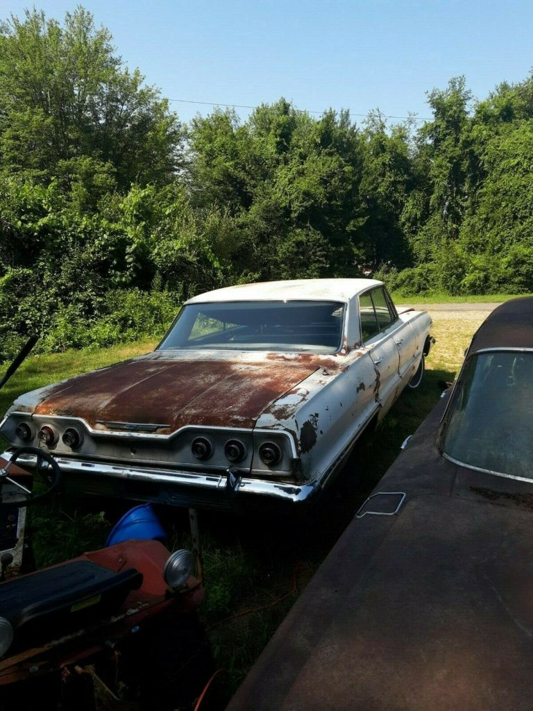 complete 1963 Chevrolet Impala project