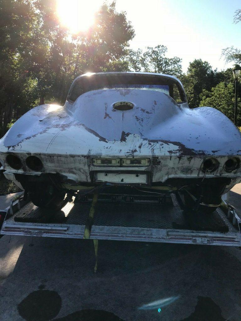 extra parts 1967 Chevrolet Corvette project