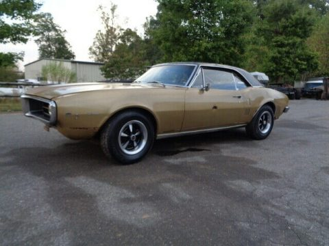 low miles 1967 Pontiac Firebird project for sale