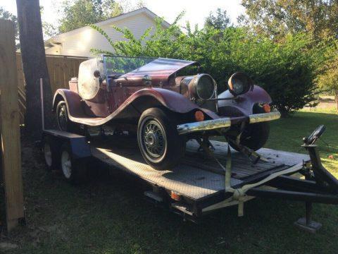needs work 1937 Jaguar Replica project for sale