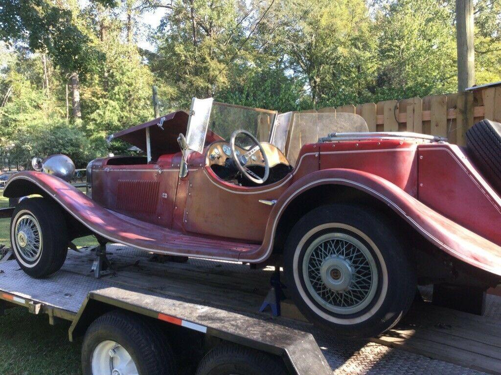 needs work 1937 Jaguar Replica project