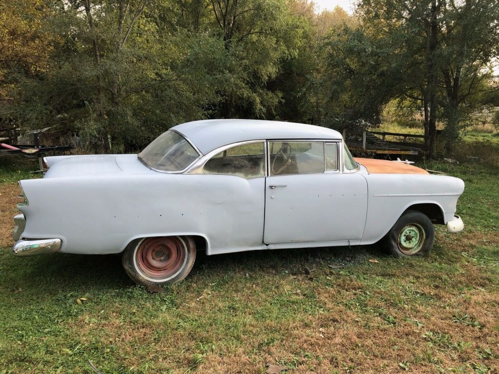 new parts 1955 Chevrolet Bel Air/150/210 Sport coupe project