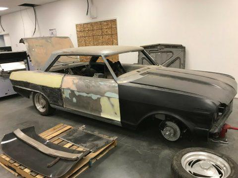 new parts 1963 Chevrolet Nova project for sale
