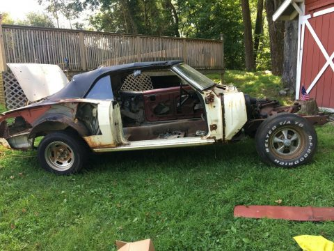 new parts 1967 Chevrolet Camaro project for sale