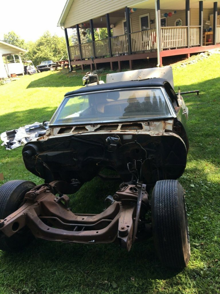 new parts 1967 Chevrolet Camaro project