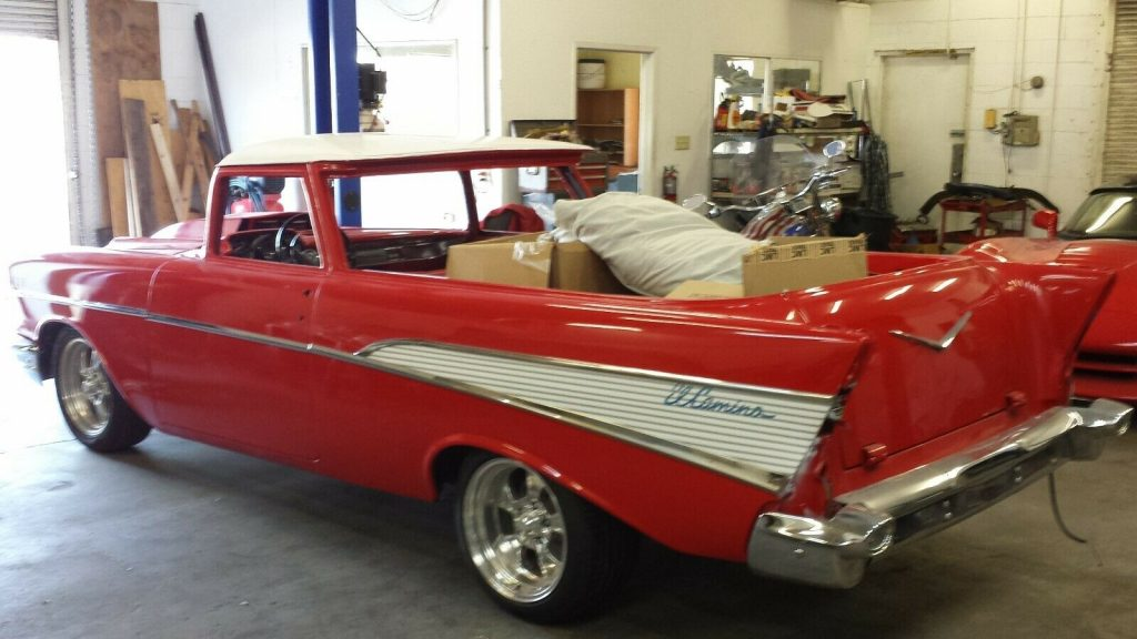 one of a kind 1957 Chevrolet El Camino custom project