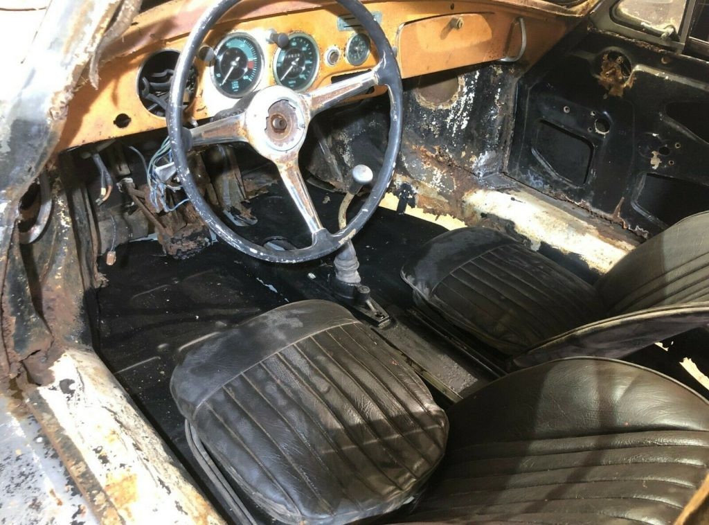 partly restored 1962 Porsche 356 Project