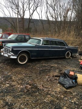 rare 1956 Chrysler Imperial Limousine project for sale