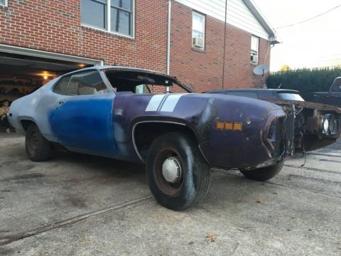 rare 1971 Plymouth GTX project for sale