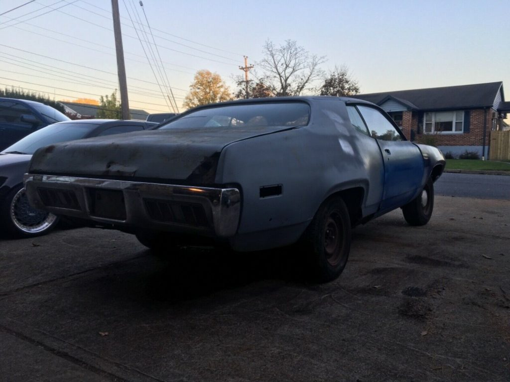 rare 1971 Plymouth GTX project