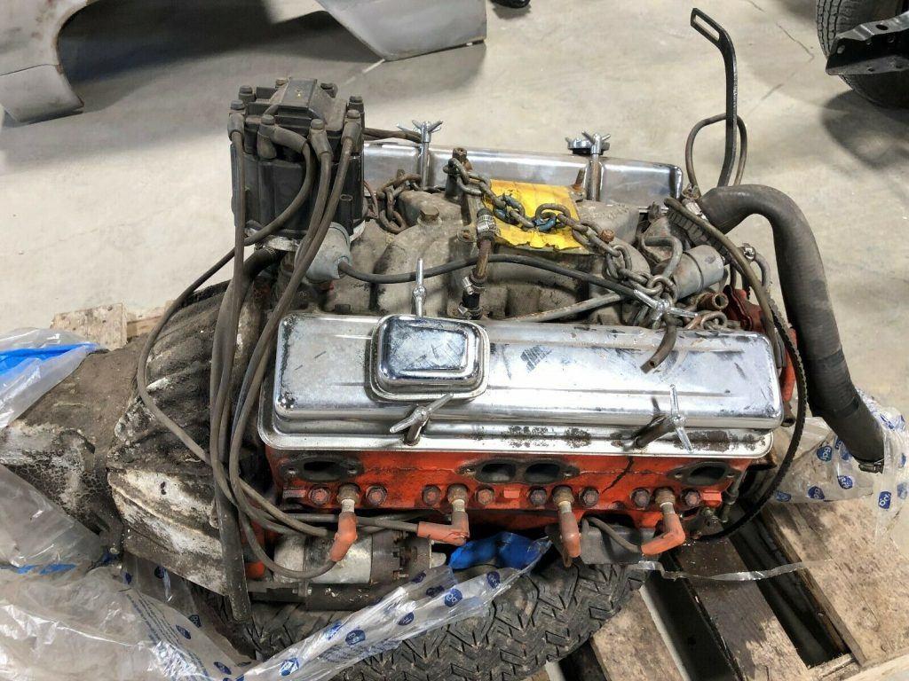 resto in progress 1964 Chevrolet Impala SS project