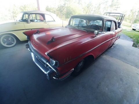 solid 1957 Chevrolet Bel Air project for sale