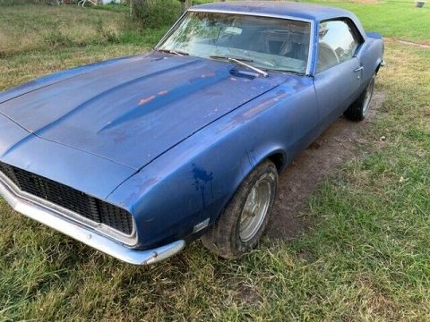 solid 1968 Chevrolet Camaro RS SS project for sale
