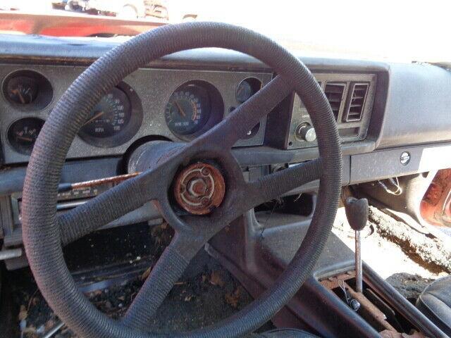 solid 1979 Chevrolet Camaro Z/28 project