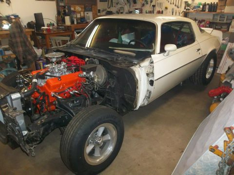 solid 1981 Chevrolet Camaro project for sale