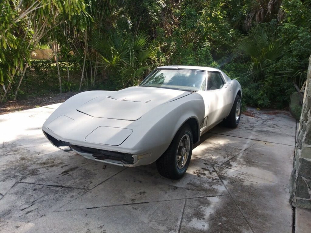 swapped engine 1970 Chevrolet Corvette project