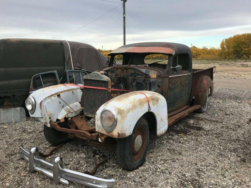 very rare 1947 Hudson Pickup Custom project