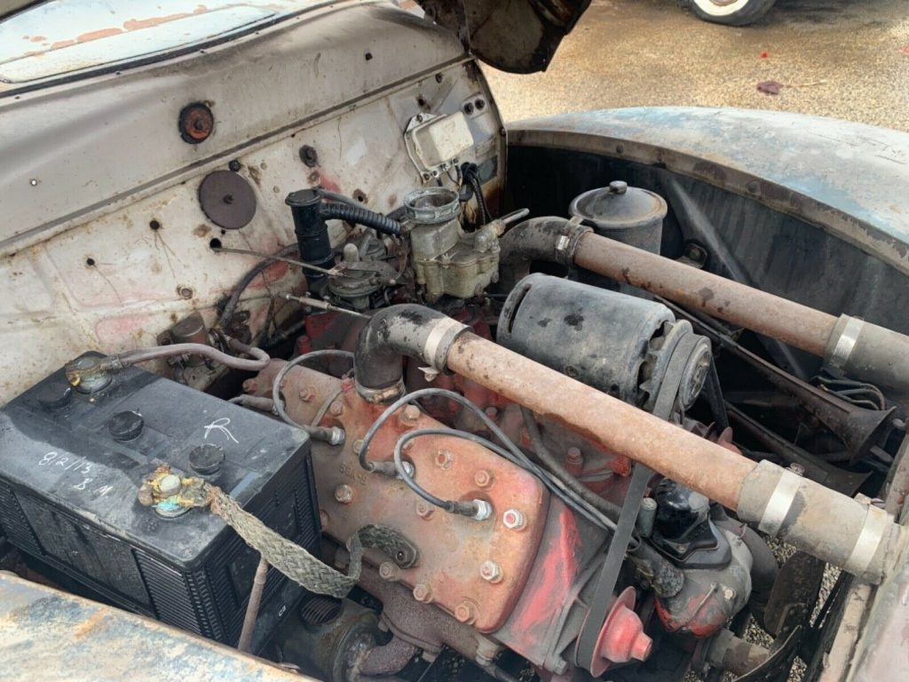 very solid 1939 Mercury Convertible project