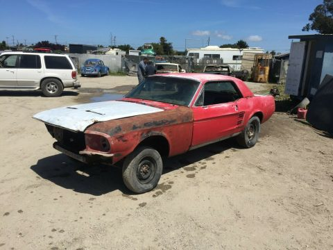 very solid 1967 Ford Mustang 289 V 8 Coupe project for sale