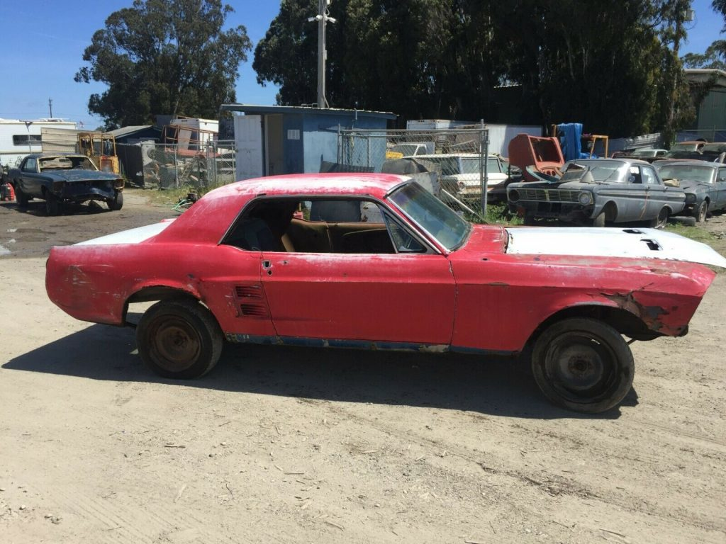 very solid 1967 Ford Mustang 289 V 8 Coupe project