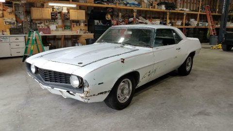 very solid 1969 Chevrolet Camaro project for sale