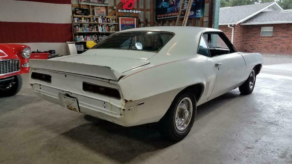 very solid 1969 Chevrolet Camaro project