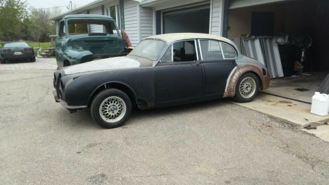 hot rod 1962 Jaguar Mark 2 chevrolet V8 project for sale