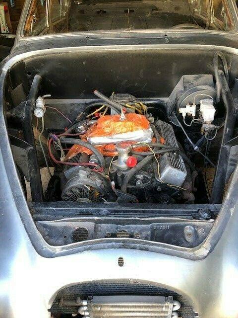 hot rod 1962 Jaguar Mark 2 chevrolet V8 project
