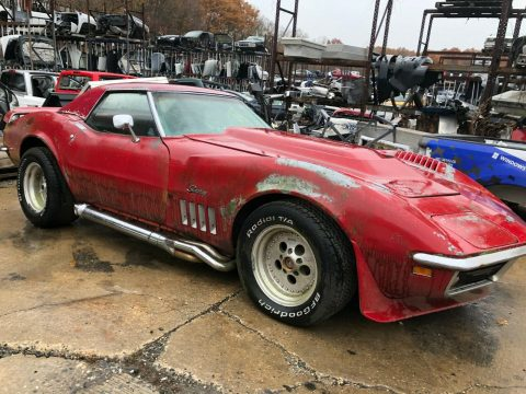 needs work 1969 Chevrolet Corvette 2 Door project for sale