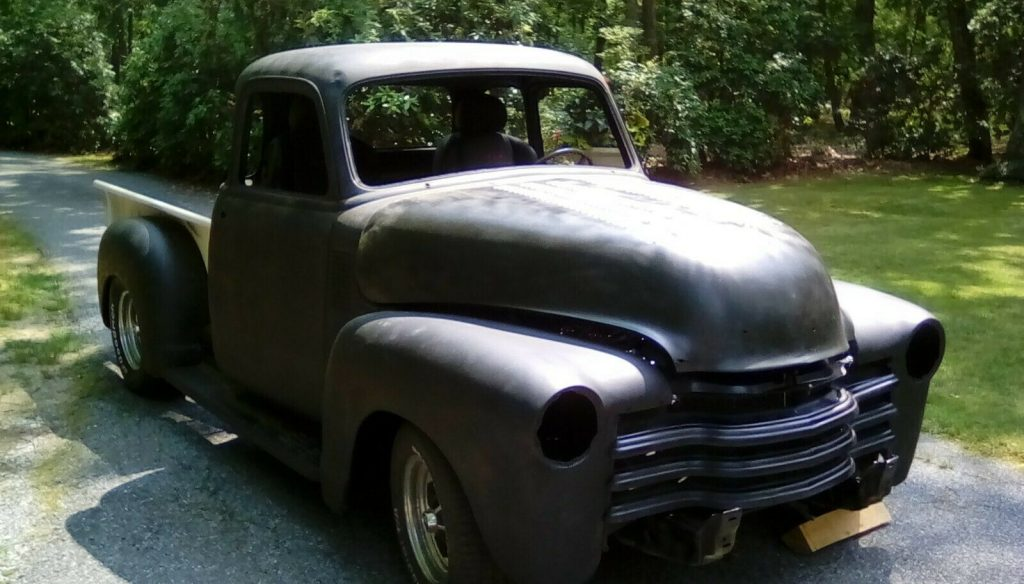 new parts 1954 Chevrolet Pickup 3100 project