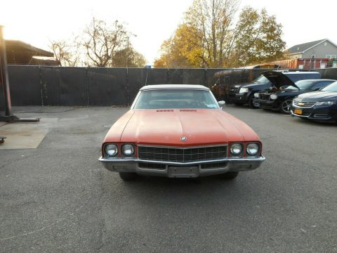 new top 1972 Buick Skylark Convertible project for sale