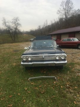 original engine 1963 Chevrolet Impala SS project for sale