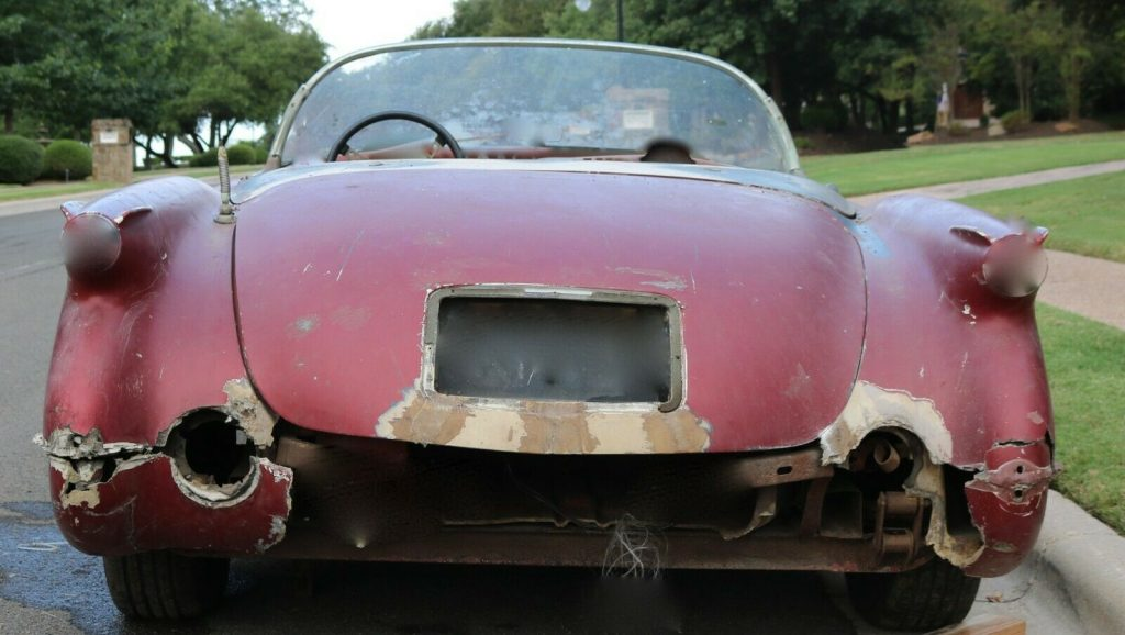 solid 1954 Chevrolet Corvette project