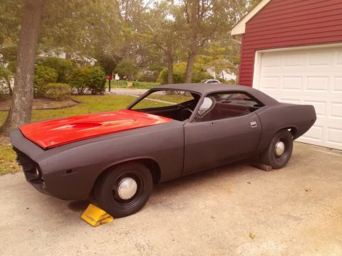 ton of parts 1972 Plymouth Barracuda project for sale