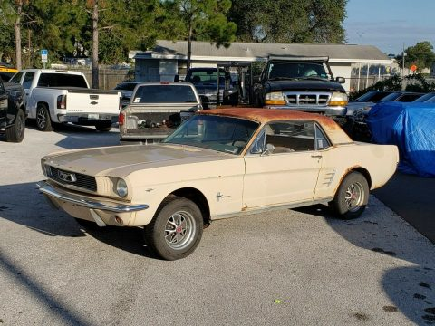barn find 1966 Ford Mustang project for sale
