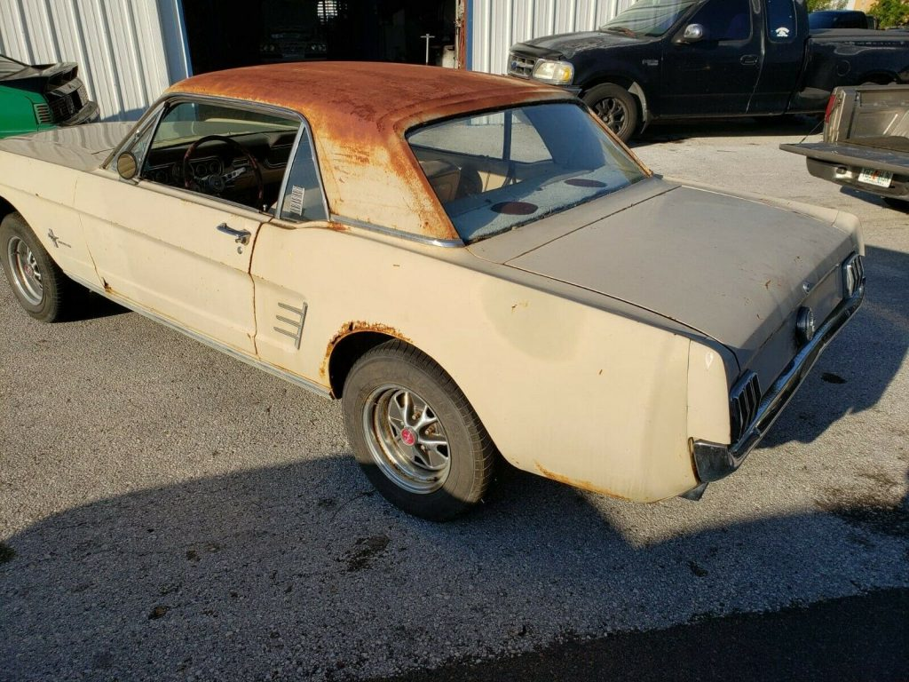 barn find 1966 Ford Mustang project